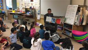 Reading to first graders