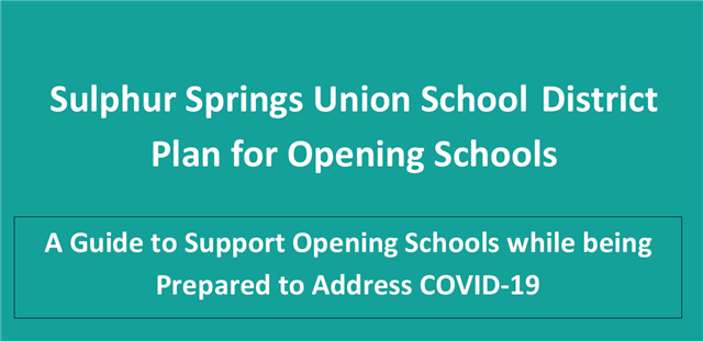Please click on link to view the Plan for Opening Schools